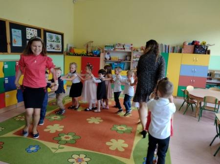 Zajęcia otwarte w grupie 3-4 latków