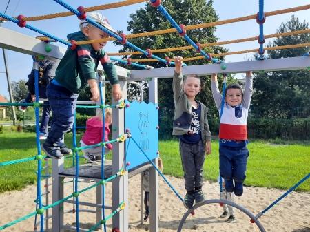 Wrześniowe zabawy w grupie 3-4 latków