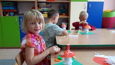 Jesienne inspiracje w grupie 5 i 6-latków.