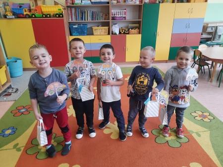 Dzień Chłopaka w grupie 3 i 4-latków