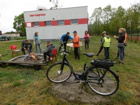 Mokre otwarcie sezonu rowerowego