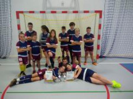 Halowy Turniej Piłki Nożnej Szkół Wiejskich z okazji otwarcia sali sportowej