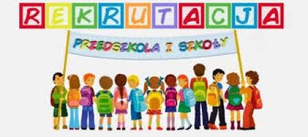 Przypomnienie o rekrutacji do oddziałów przedszkolnych i klasy pierwszej
