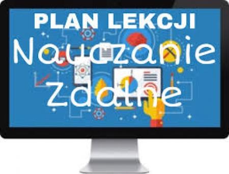 Plan lekcji podczas zdalnego nauczania 09-27.11.2020 r.