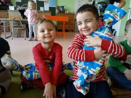 Mikołajki w grupie 3-4 latków