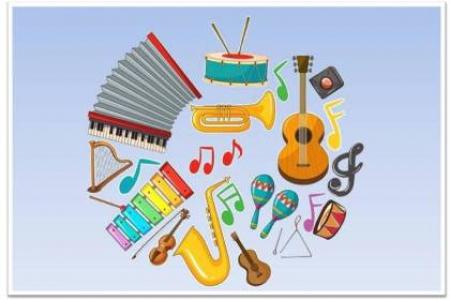 3-4 latki poznają instrumenty muzyczne