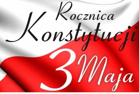 Konkurs na plakat dotyczący 230. rocznicy ustalenia Konstytucji 3 Maja