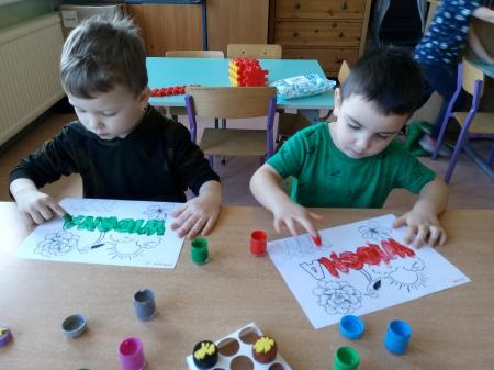 Wiosenna sensoplastyka - grupa 3-4 latków