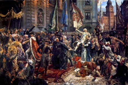 Konstytucja 3 Maja - opracował Maksymilian Wiczkowski kl. 8