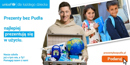 SP Krępsko wspiera akcję ''Moc prezentów UNICEF''